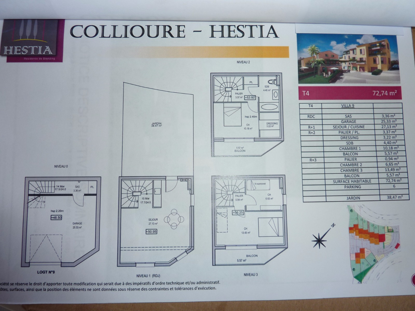 Vente villa 4 pi ces neuve collioure for Acheter maison collioure
